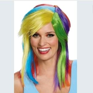 Accessories - 🆕 My Little Pony Rainbow Dash Adult Wig